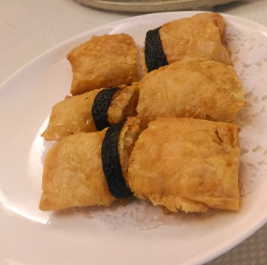 Fried Beancurd Skin Roll