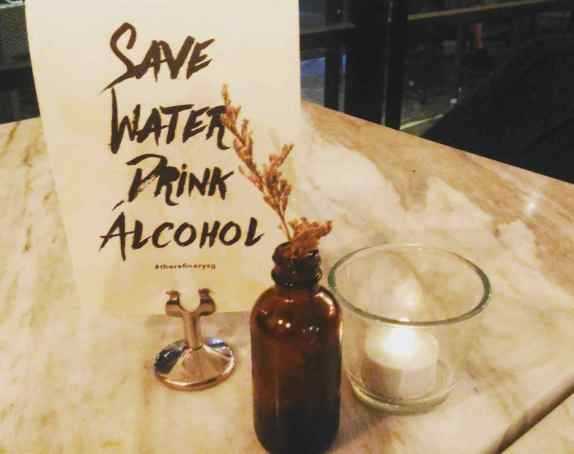 Save Water Drink Alcohol