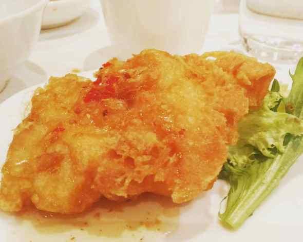 Deep Fried Fish Fillet with Homemade Sauce Ah Yat