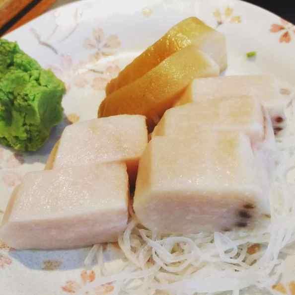 White Tuna & Mekajiki Sashimi
