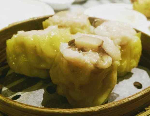 """Steamed Mushroom Pork Dumplings """"Siu Mai"""""""