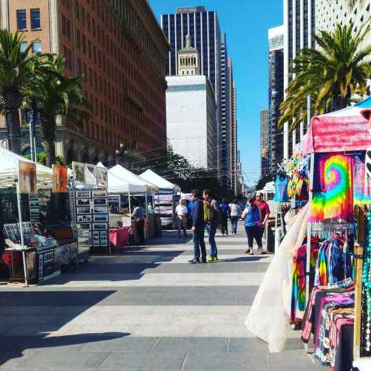 Pop Up Stalls Ferry Building
