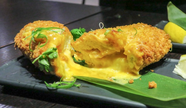 Salted Egg Lava Chicken Breast