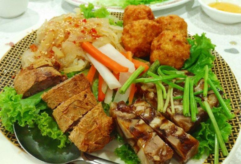 Chao San Cuisine Starter Platter