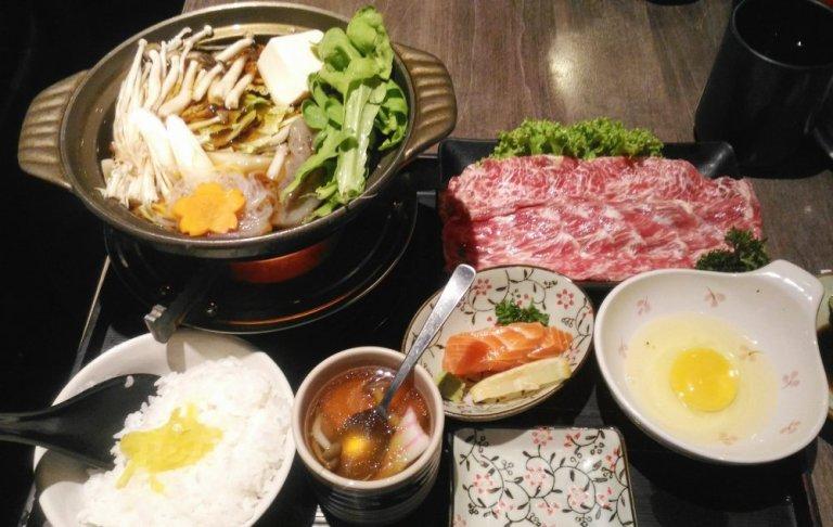 Hakumai Sukiyaki Gozen Set Lunch