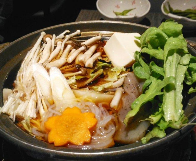 Hakumai Sukiyaki