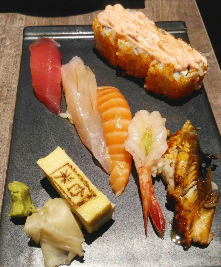 Hakumai Sushi Soba Gozen