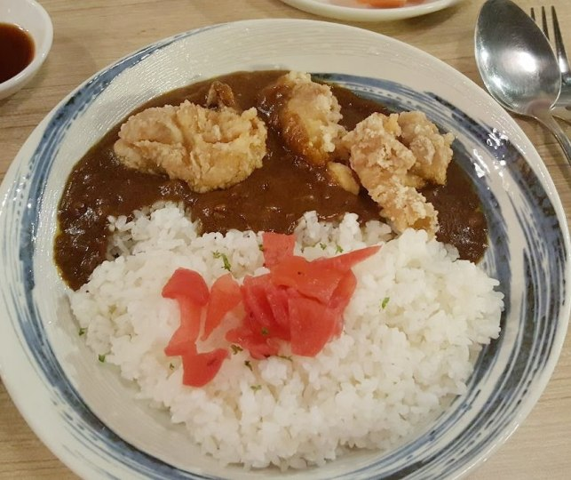 Chicken Curry Rice Tsukiji Fish Market Orchard Central