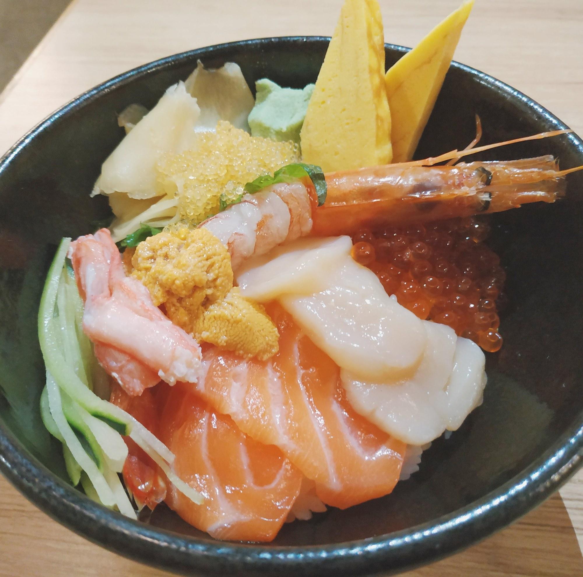 Hokkaido Don Tsukiji Fish Market Orchard Central