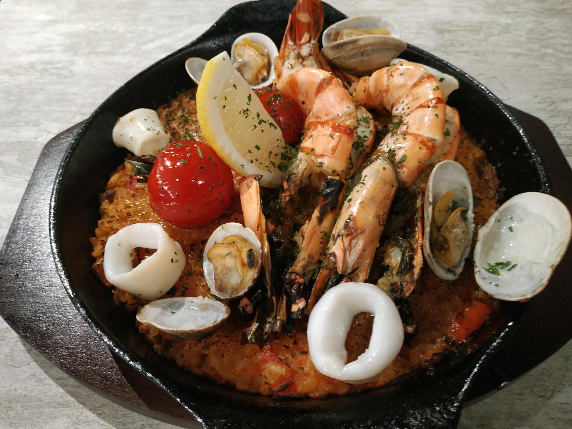 Seafood Paella NUDE Seafood